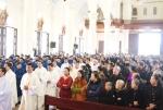 Linh mục BC học ĐCVHN mừng quan thầy