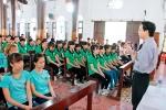 Giới trẻ giáo hạt Bùi Chu mừng bổn mạng