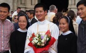 Một phó tế gốc Bùi Chu sắp lên bậc tư tế tại Pháp